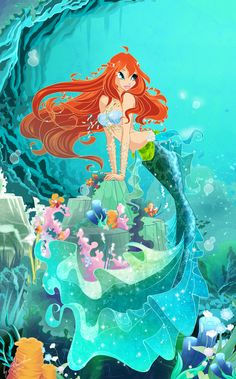 Winx Club - Bloom - Mermaid
