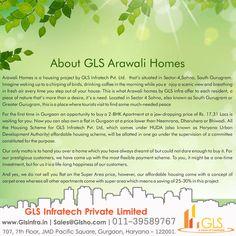 GLS Arawali Homes Location Map. Best Affordable Homes In Sector 4 Sohna Gurgaon. #GLS #ArawaliHomesSohna #Gurgaon #GLSArawaliHomesGurgaon #ArawaliHomes