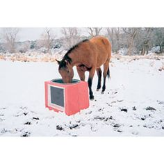 Solar Heated And Insulated Stock Tank Version 2 Horse