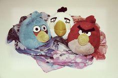 A los Angry Birds les encantan los pañuelos de http://megustalamoda.es