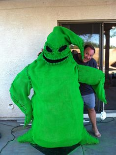Simple DIY Oogie Boogie Costume for Any Age | Oogie boogie ...
