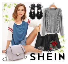 """.shein 2"" by aida-1999 ❤ liked on Polyvore"