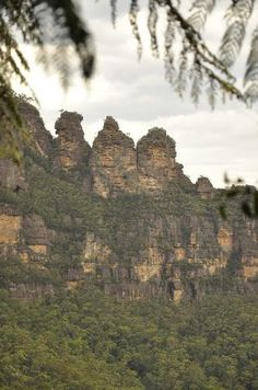 Blue Mountains near Sydney...they look stunning, will have to make sure we see them