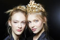 notordinaryfashion:  Dolce & Gabbana S/S 2016 - Backstage