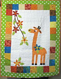 Georgie giraffe.