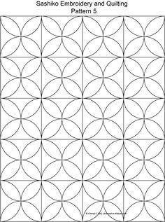 Sashiko pattern 5.jpg 521×700 pixels