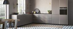Tinta grå – elegant og enkelt kjøkken - kvik.no