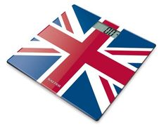 Add a touch of British pride to your bathroom with these red, white and blue Union Jack Bathroom Scales from Salter £19.99
