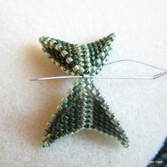 Last week I covered Warped Peyote Squares and this week I am going to cover another project that can be made with warped squares- A cu...