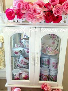 "My Shabby Chic Home My Romantic Home ~ ~ Romantic Home: Flowers Whisper ""Beauty''!"