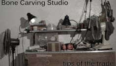 Bone Carving Tutorial: what you need to start making bone jewelry.