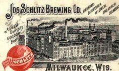 Schlitz Brewery circa 1892