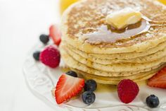 Gluten-Free Pancakes Made With Almond Meal