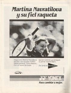 Raquetas Yonex, dic 1984