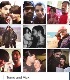 Tomo Milicevic & his wife.