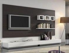 Elegant, Contemporary, and Creative TV Wall Design Ideas Living Room Tv, Living Room Modern, Living Room Designs, Tv Unit Design, Tv Wall Design, Bedroom Tv Stand, Modern Entertainment Center, Rack Tv, Tv Stand Designs