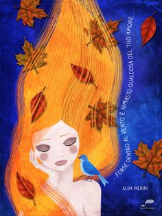 Forse nel vento è rimasto qualcosa del tuo amore - Alda Merini - piperitadesign