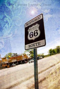 Historic Route 66, New Mexico