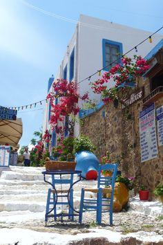 Quaint Greek scene! Kos, Greece