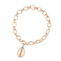 Fabergé Diamond Rose Gold Charm #Fabergé