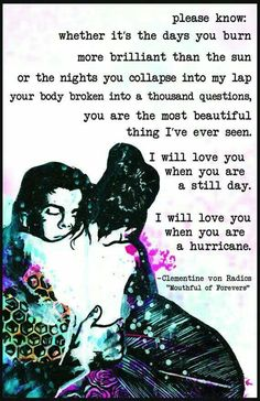 Clementine von Radics - I've never read this, but I should. I want to just based on this beautiful excerpt