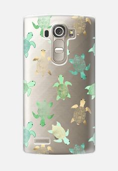Turtles on Clear LG G4 case by Tangerine- Tane | Casetify