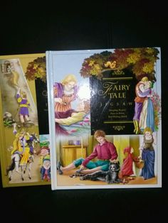 Fairy tale jigsaw books (Set of 2)