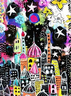 Alisa Burke — city of my dreams 8x10 matted print
