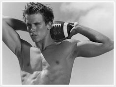Hot boys With Shirts Off | male model football player hot guy with shirt off six pack abs