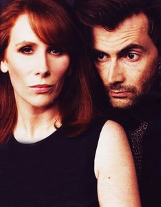 David Tennant and Catherine Tate in 'Much Ado About Nothing'...fell in love with this production!