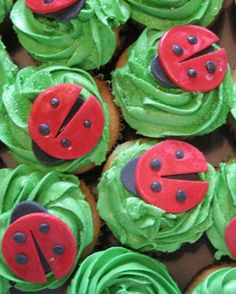 """See the """"Ladybug Cupcakes"""" in our Your Martha-Inspired Cupcakes gallery"""