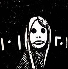 """#draweveryday #everyday """" thoughts of moving to an interesting #european #city """" ... Piano and #electronic tunes could be heard from the #coffee shop while the stranger watches through your #soul """" #drawing #sketch #pen on #paper from my #sciencefiction #3zuniverse www.3zuni.com #scifi #semiotics #strange #beauty #futuristic #detachment"""
