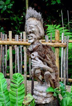 These sculpture can be seen in dinosaur descendants exhibit.