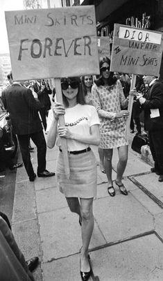 #mini #skirt #forever #women #emancipation #indipendent #go