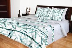 Luxusné prehozy sivé so vzorom bambus 3d, Furniture, Home Decor, Bamboo, Decoration Home, Room Decor, Home Furnishings, Home Interior Design, Home Decoration