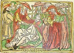 Het verhaal achter de enige vrouwelijke paus. http://zeihij.nl/?p=1816