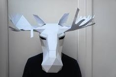 Картинки по запросу geometric animal mask