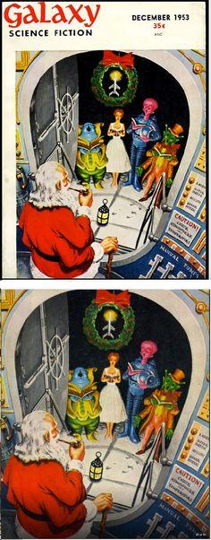 ED EMSHWILLER - Dec 1953 Galaxy Science Fiction