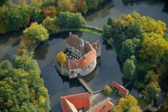 Castle Vischering, Luedinghausen, Münster, Germany