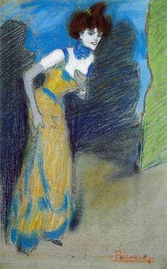 Pablo Picasso, 1900 La fin du numéro