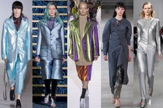 PFW Trend: Metallic Tailoring