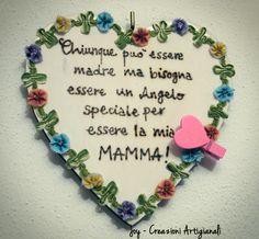 Wooden heart , pyrography,photo hanger,perfect gift mum, dad, partner di JoyMadeInItaly su Etsy