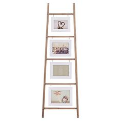 Solid Wood Photo Ladder