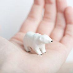 Polar Bear Totem, Le Powerful Polar Bear on Etsy, $48.00