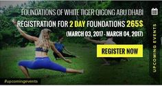 In March Master Tevia Feng is going to United Arab Emirates(#UAE) for the first time to teach #Foundations of White Tiger Qigong and 5 Element Qigong Level I Certification. Join him to learn a smooth flow of dynamic #Qigong forms, Qigong meditation and breathing, Qigong philosophy and much more. The registration for these two events is already open. Visit White Tiger Qigong website for more details. http://whitetigerqigong.com/event/foundations-white-tiger-qigong-abu-dhabi/