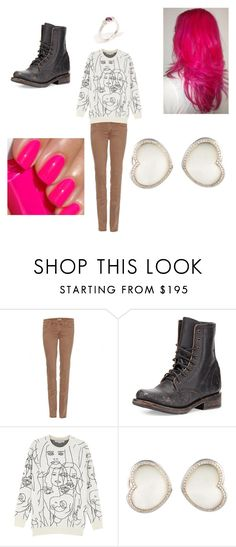"""""""Untitled #193"""" by timefornews ❤ liked on Polyvore featuring Mother, Freebird, STELLA McCARTNEY and Meadowlark"""