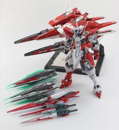 POINTNET.COM.HK - 超正作品重溫!! MG 1/100 00 Qan[T] Gundam 宇宙騎士 Ver