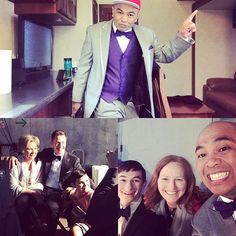 #Friends, #Oncers #more #bts #pics from the #onceuponatime #onceuponamusical #episode #oncer #ouat #setlife #actor #actors #actorlife #actorslife #dapper #suave #watchit again and again because it\'s so much #fun