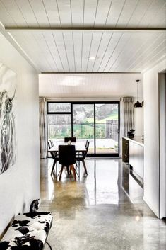 Add a unique touch of depth and luxury to your ceiling with the tongue and groove look of HardieGroove Lining by James Hardie. Interior Ideas, Interior Inspiration, Interior Design, Farm House, My House, James Hardie, Entrance Ways, Shed Homes, Country Homes