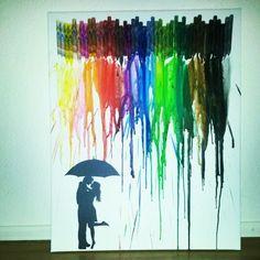 Colorfull rain
